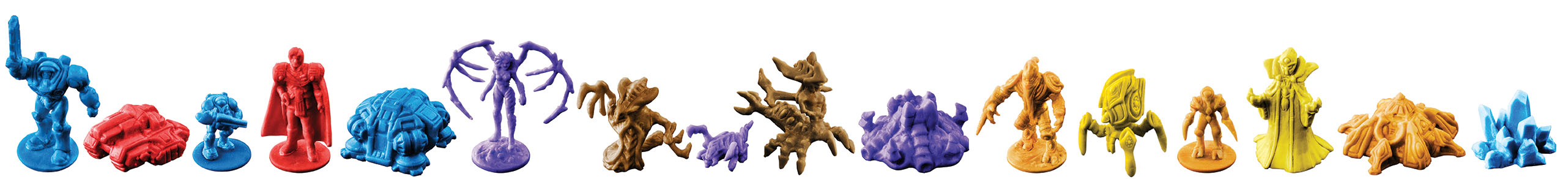 Risk Starcraft game pieces