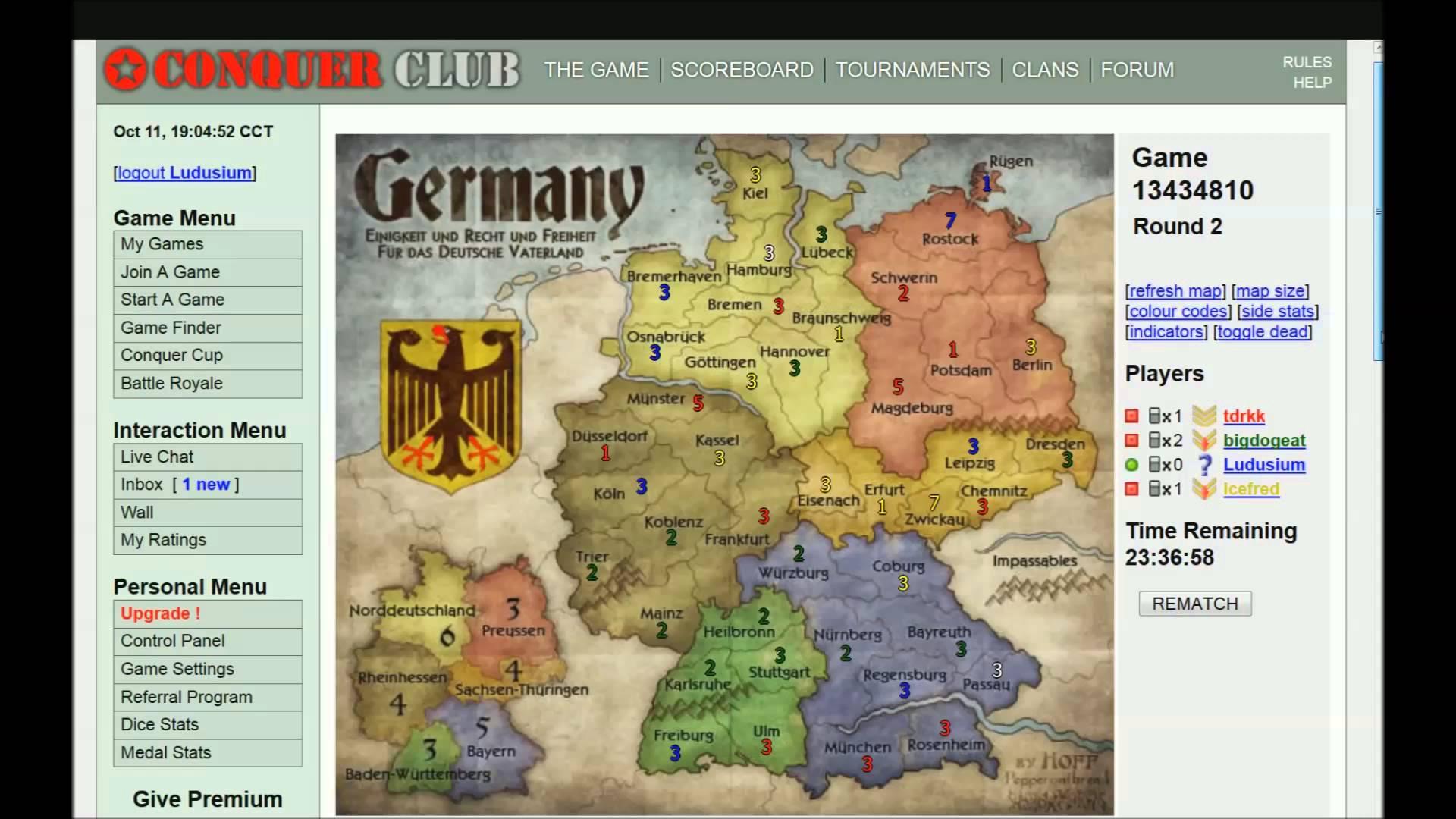 conquer online deutsch