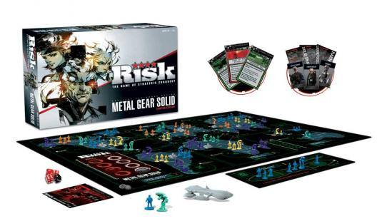 Risk Metal Gear Solid Board Game