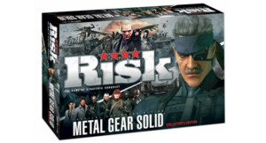 RISK Metal Gear solid box cover