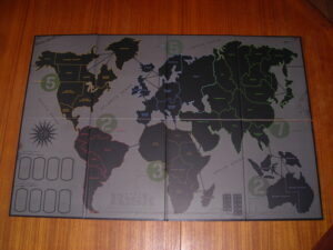 Risk Gameplay Rules and Features map