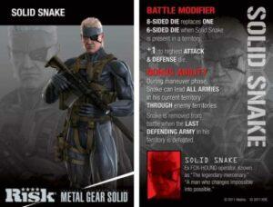 Risk Solid Snake game