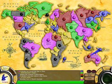 Risk 2 Risk II Video Game map