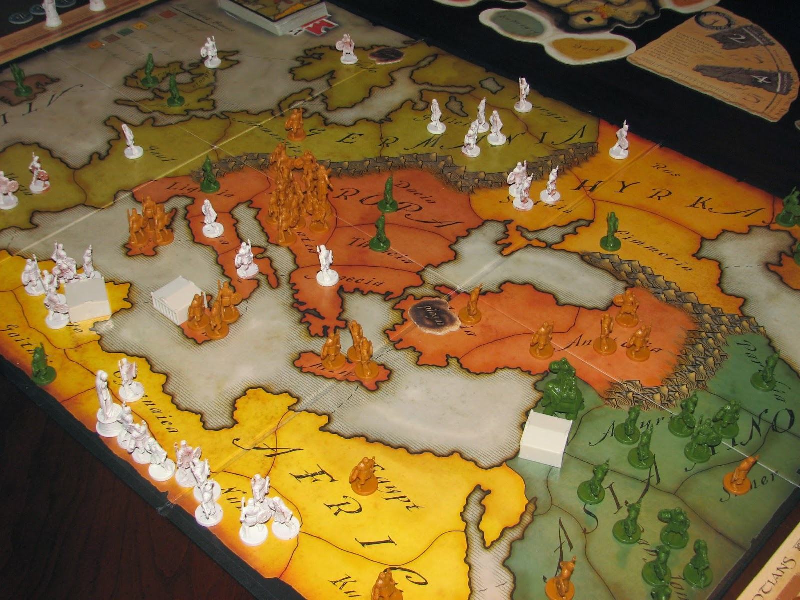 Risk GodStorm Map and Pieces