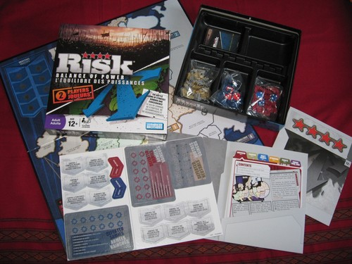 RISK: Balance of Power Game Materials