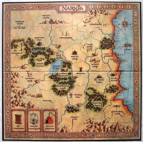 Risk Junior: Narnia Game Board