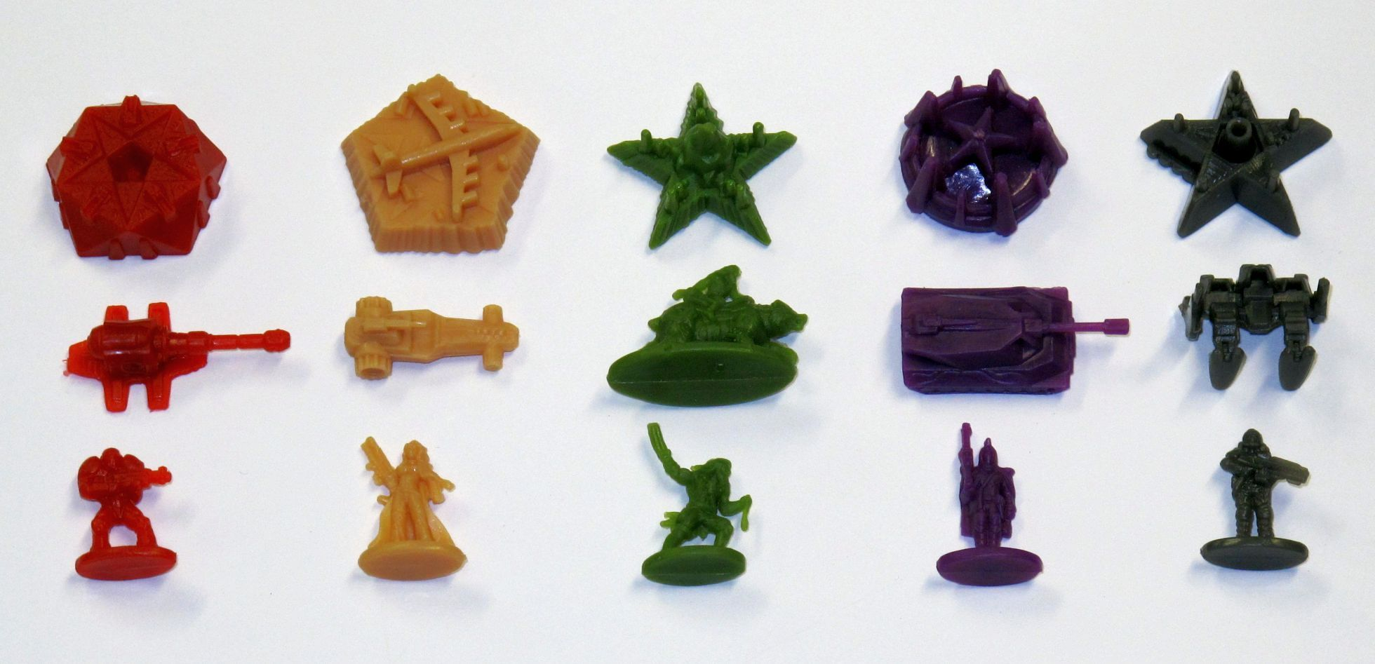 Risk Legacy Game Pieces