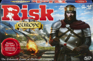Risk: Europe Box Cover Front